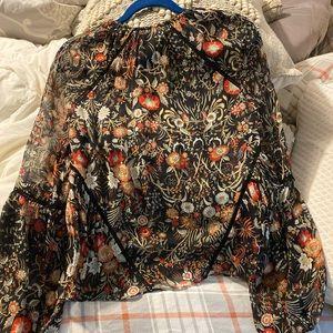 Intermix silk blouse